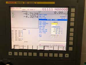 2007 TAKAMAZ XW-80 CNC TURNING CENTER