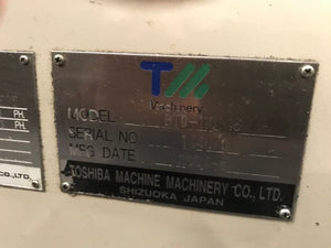 "4.3"" TOSHIBA CNC TABLE HORIZONTAL BORING MILL"