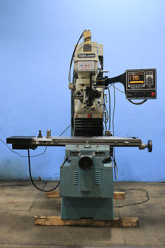 30'' X Axis 3HP Spindle Southwest Ind. DPM3 CNC VERTICAL MILL, TRAK AGE 3-AXIS, #40 PDB, 3 HP