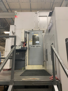 2010 Okuma VTM-120YB 5-Axis CNC Vertical Turning Center