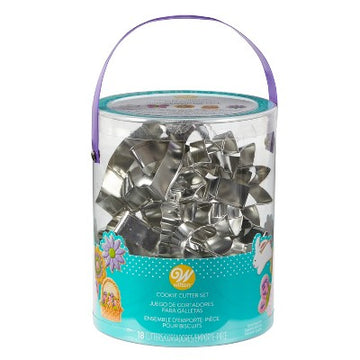 Wilton 18 Piece Easter Theme Cookie Cutter Set