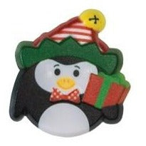Christmas Ring Ideal Cupcake Decoration - Cute Penguin