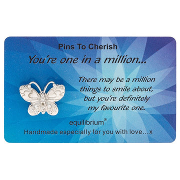 Equilibrium Cherished Pins You are one in a Million