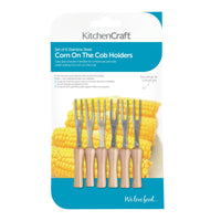 KitchenCraft Set of 6 Corn on the Cob Holders