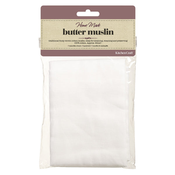 Home Made Butter Muslin - for Straining, Steaming and Preserving