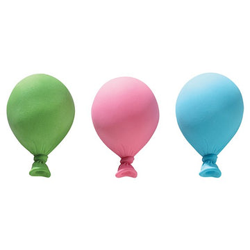 Gumpaste Balloons Pastel 3 piece Cake Toppers