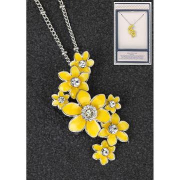 Equilibrium Radiant Daffodil Cluster Necklace