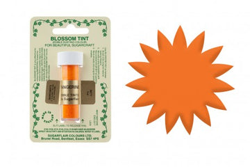 Sugarflair Edible Blossom Tint Food Dust - Tangerine