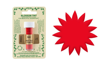 Sugarflair Edible Blossom Tint Food Dust - Red
