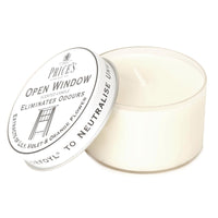 Price's Open Window Candle - Eliminates Odours