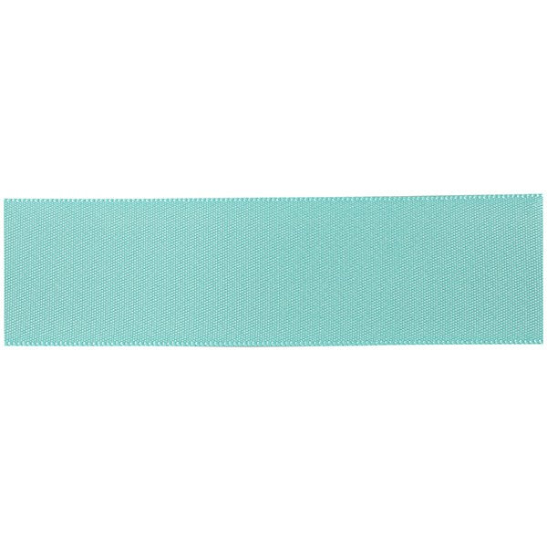 Double Sided Satin Ribbon Ocean Blue/Green 25mm