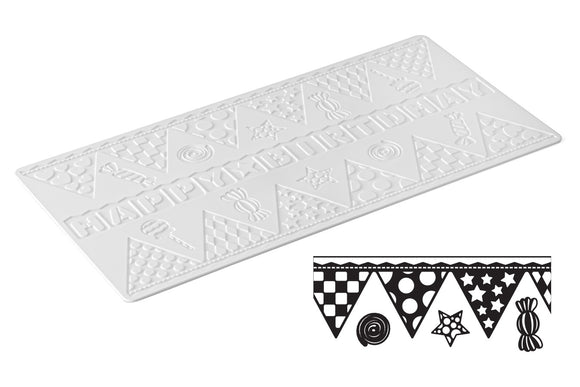Cake Lace Sweet Lace Mat Happy Birthday Bunting