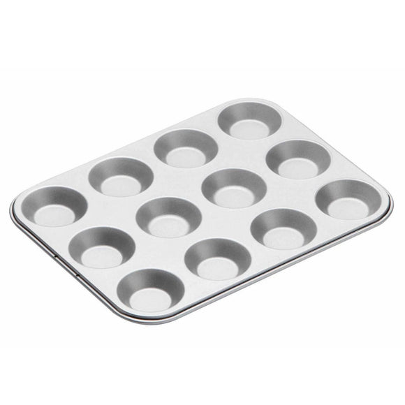 KitchenCraft Non-Stick Twelve Hole Shallow Pan - Ideal for Mince Pies