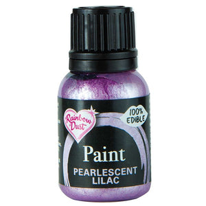 Rainbow Dust Edible Food Paints - Pearlescent Lilac