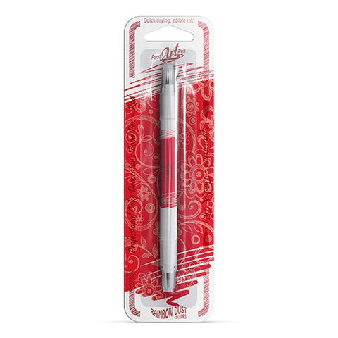 Rainbow Dust Food Art Edible Pen - Red