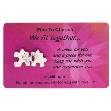 Equilibrium Cherished Pins We Fit Together