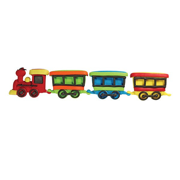 JEM pop it Mould/ Cutter- Train & Coach 2 piece set