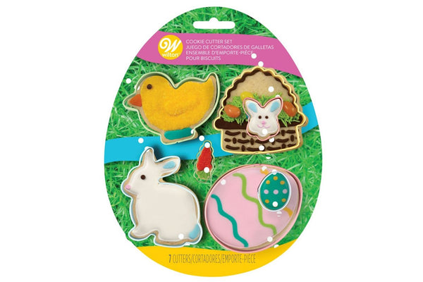 Wilton Set of 7 Easter Cookie Cutters