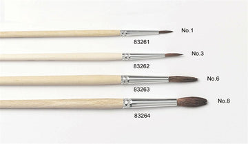 No.3 Artist Brush - Pony Hair Sugarcraft Brush
