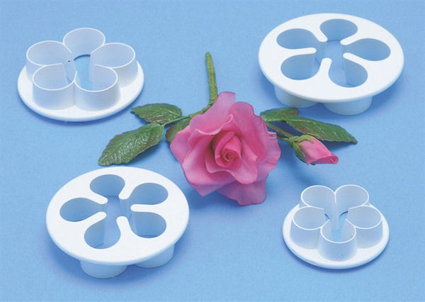 PME Five Petal Cutter set of 4