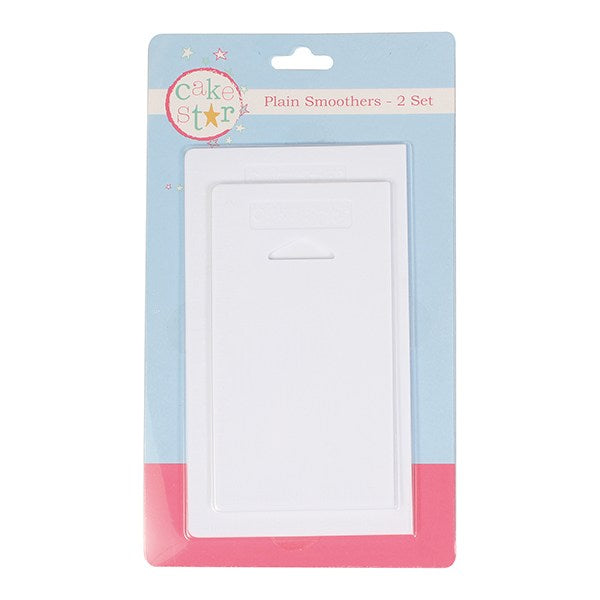 Cake Star Plain Smoothers / Side Scrapers - Set of 2