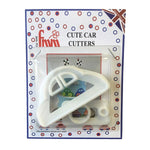 FMM Cute Car Cutter - 3 set