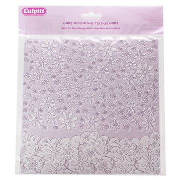 Wedding Lace Texture Mat 200mm x 200mm