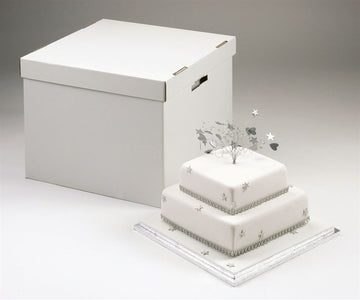 Stacked Wedding Cake Box - 14''/16'' (355mm/406mm)