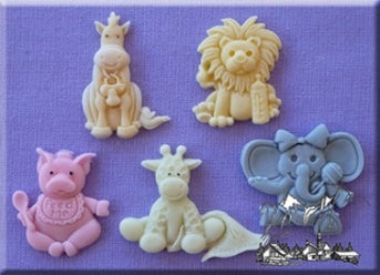 Alphabet Moulds Baby Animals Sugarcraft Mould