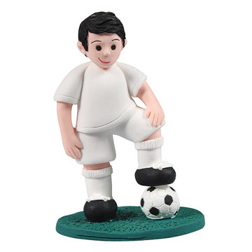 Cake Star Cake Topper - Footballer Player with Football