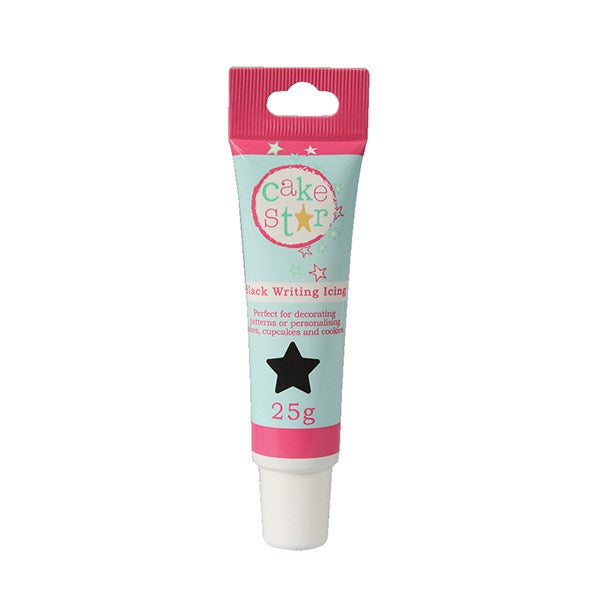 Cake Star Writing Icing - Black 25 grams