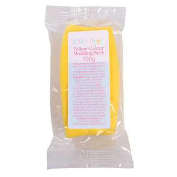 Cake Star Yellow Edible Sugarcraft Modelling Paste