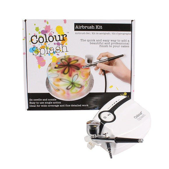 Colour Splash Airbrush Spray / Airbrushing Kit - UK Plug