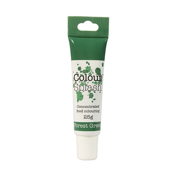 Colour Splash Gel Concentrated Food Colour - Forest Green - 25g - The Cooks Cupboard Ltd