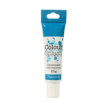 Colour Splash Gel Concentrated Food Colour - Peacock Blue - 25g