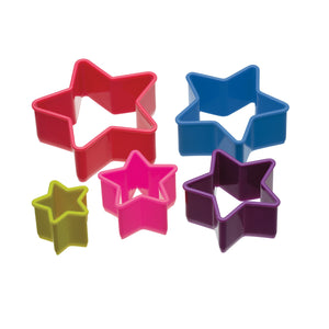 Colourworks Set of 5 Star Shaped Cookie Cutters