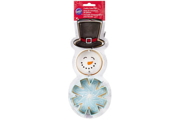 Wilton Snowman Christmas Cookie Cutter Set