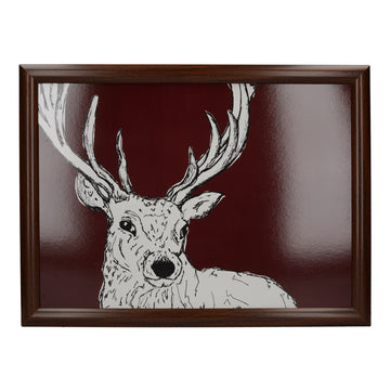 Creative Tops Into The Wild Stag Laptray TV Dinner Bean Bag Tray