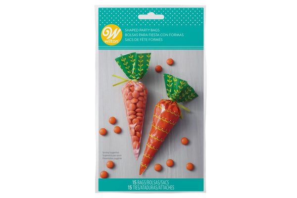 Wilton Easter Carrot Shaped Sweet Treat Bags