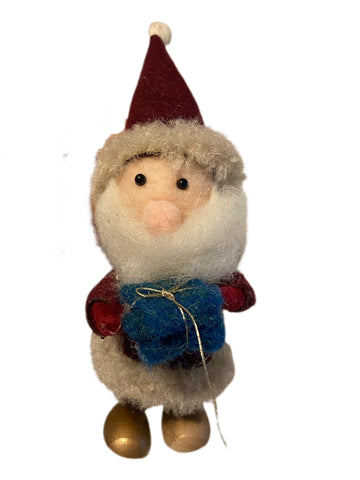 Woollen Craft Style Santa Christmas Decoration