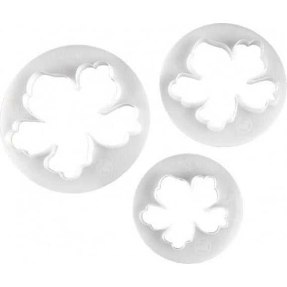 FMM Hawaiian Flower Hibiscus 3 piece cutter set