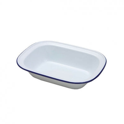 Falcon Enamel Oblong Pie Dish 28cm