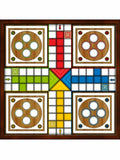 Game Ludo traditional board game Personalised Edible Cake Topper Square Icing Sheet