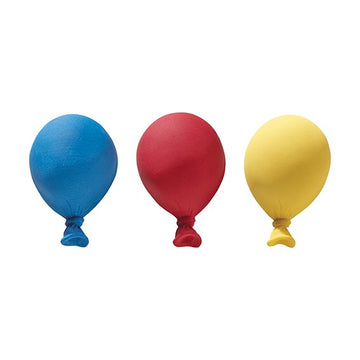 Gumpaste Balloons Primary Colours 3 piece cake Decoration