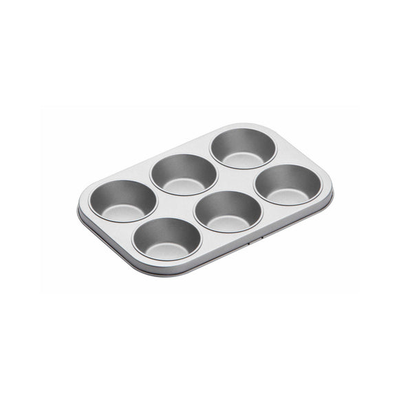 KitchenCraft Non-Stick Six Hole Cupcake Baking Pan