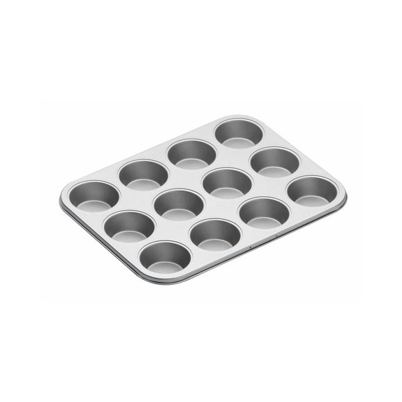 KitchenCraft Non-Stick Twelve Hole Bake Pan Cupcale Baking Tin