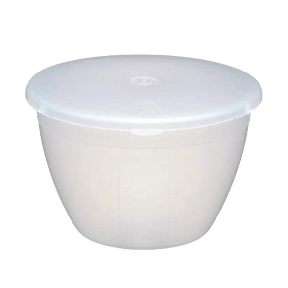 KitchenCraft Plastic 570ml Pudding Basin and Lid