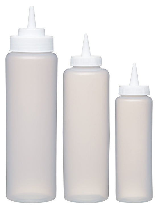 KitchenCraft Set of 3 Easy Squeeze Sauce Dispensers