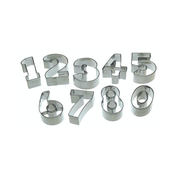 Let's Make Numeral Number Cookie Cutter Set