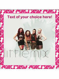 Little Mix Singers band Personalised Edible Cake Topper Square Icing Sheet